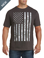 USA Camo Flag Graphic Tee