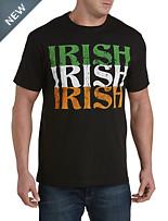Three Irish Stack Graphic Tee