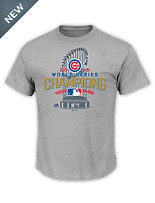 Majestic® MLB 2016 Chicago Cubs Championship Locker Room Tee