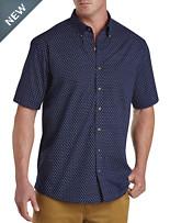 Harbor Bay® Easy-Care Paisley Print Sport Shirt