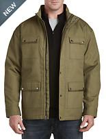 Synrgy™ 4-Pocket Canvas Military Jacket