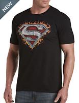 Superman Iron Fire Graphic Tee