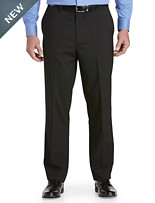 Gold Series Perfect Fit Waist-Relaxer® Unfinished Flat-Front Suit Pants
