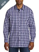 Synrgy Plaid Sport Shirt