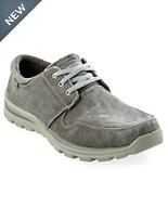 Skechers® Elvin Canvas Oxfords
