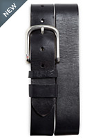 TH 38M Saddle Lthr Jean Belt