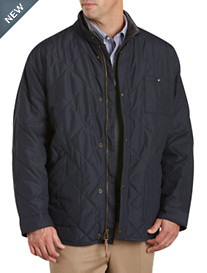 Oak Hill® Stand-Collar Quilted Bomber
