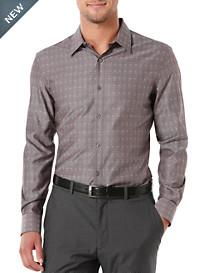Perry Ellis® Jacquard-Patterned Sport Shirt