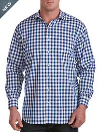 Synrgy® Long-Sleeve Check Sport Shirt