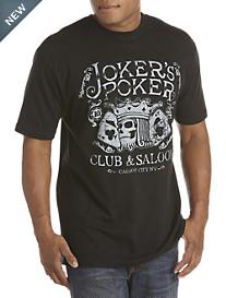 Joker's Poker Graphic Tee