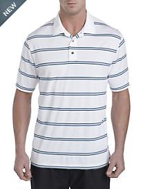 Reebok Wide-Stripe PlayDry® Piqué Polo