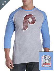 MLB Coop Raglan-Sleeve Team Tee
