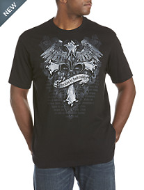 Truth and Courage Heraldic Graphic Tee