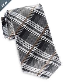 Geoffrey Beene® Textured Petra Plaid Tie