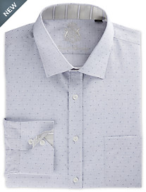 English Laundry™ Dobby Mini Check Dress Shirt
