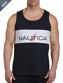 Nautica® Logo Tank with Mesh Detail