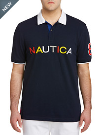 Nautica® Endless Capsule Multi Logo SS Polo