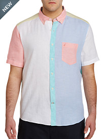 Nautica® Pieced Linen Sport Shirt