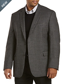Jean-Paul Germain Wool Check Sport Coat--Executive Cut
