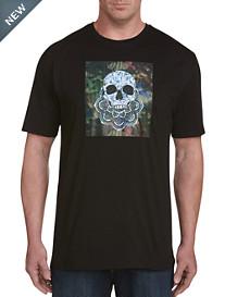 Robert Graham® DXL Camo Skull Tee
