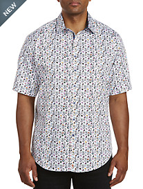 Robert Graham® DXL Digital Multi Print Sport Shirt