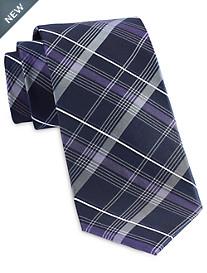 Michael Kors® Simplistic Plaid Silk Tie