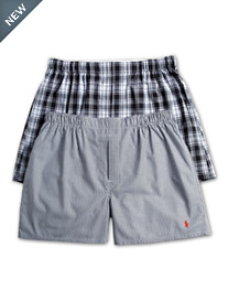 Polo Ralph Lauren 2-Pk Classic Fit Woven Boxers