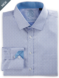 English Laundry™ Tonal Neat Stripe Dress Shirt
