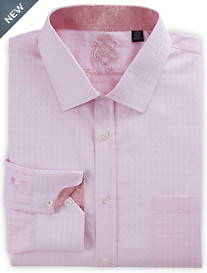 English Laundry Textured Non-Solid Dress Shirt