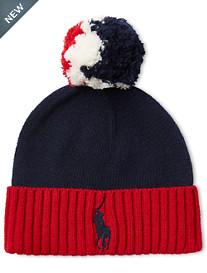 Polo Ralph Lauren® Americana Pom-Pom Knit Hat
