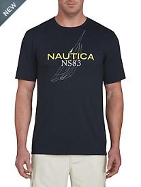 Nautica J Class Outline Graphic Tee