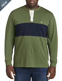 Nautica Colorblock Henley Shirt
