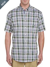 Nautica Pineforest Plaid Sport Shirt