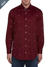 Nautica Multicolor Anchor Sport Shirt
