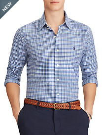 Polo Ralph Lauren® Classic Fit Gingham Poplin Sport Shirt