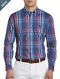 Brooks Brothers® Non-Iron Bold Plaid Oxford Pinpoint Sport Shirt