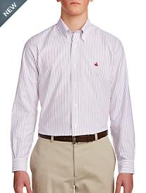 Brooks Brothers Heather Stripe Sport Shirt