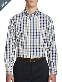 Brooks Brothers Brushed Check Sport Shirt