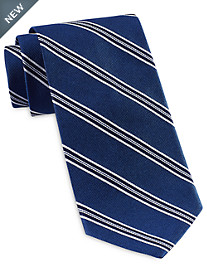 Brooks Brothers Framed Split Stripe Tie