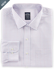 Brooks Brothers® Non-Iron Triple Check Broadcloth Dress Shirt