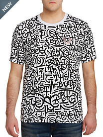 True Religion® Graffiti Print Tee