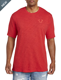 True Religion® Embossed Logo Tee