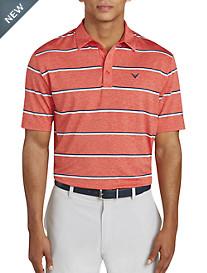 Callaway Clean Heather Stripe Polo Shirt