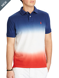 Polo Ralph Lauren® New Classic Fit USA Dip-Dye Polo Shirt