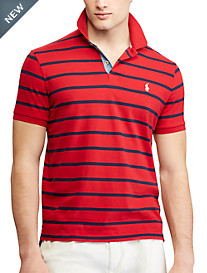 Polo Ralph Lauren® Classic Fit Jersey Stripe Polo Shirt