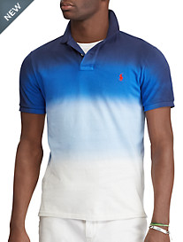 Polo Ralph Lauren® Classic Fit Dip-Dye Polo Shirt