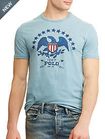 Polo Ralph Lauren® Classic Fit Eagle with Stars Graphic Tee
