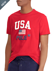 Polo Ralph Lauren® Classic Fit Polo USA Graphic Tee