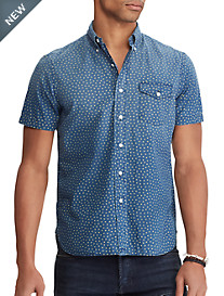 Polo Ralph Lauren® Mini Star Print Sport Shirt