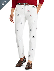 Polo Ralph Lauren Flat-Front Lighthouse Pants